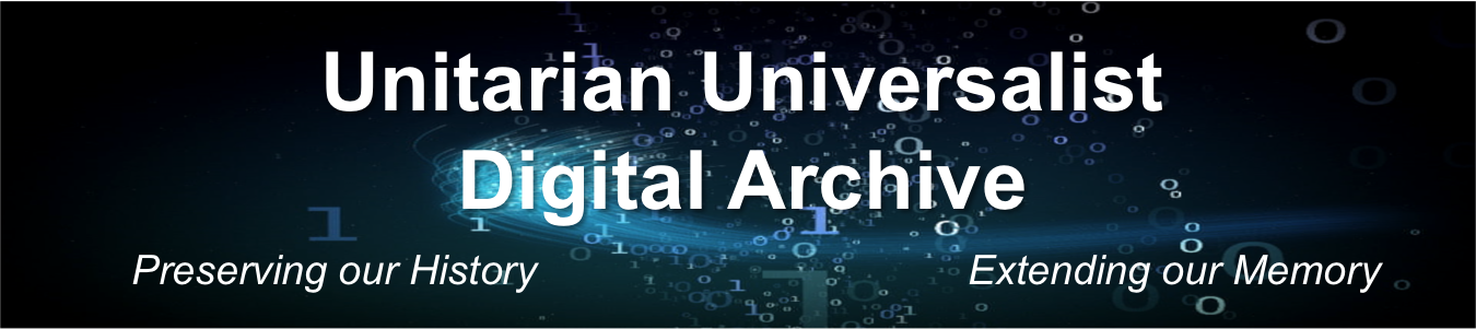 Unitarian Universalist Digital Archives