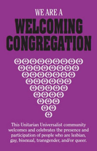 """We are a welcoming congregation"" logo"