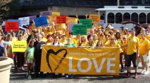 Unitarian Universalists March in 2014 Atlanta Pride Parade