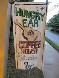Hungry Ear Sign at Northwest